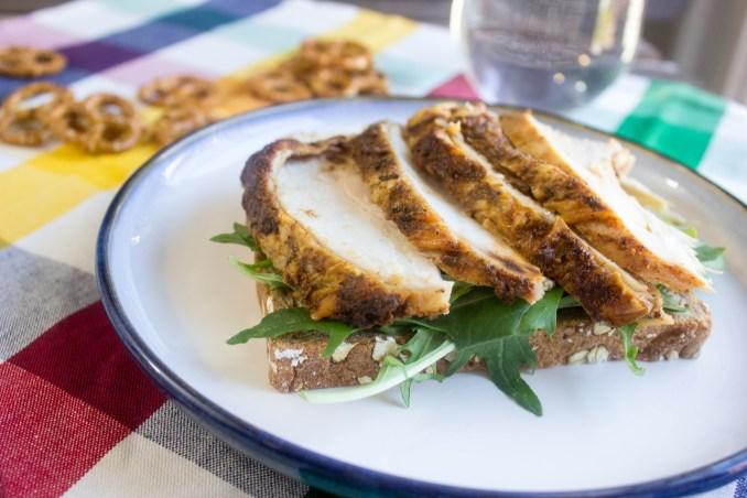 turkey and chutney sandwich