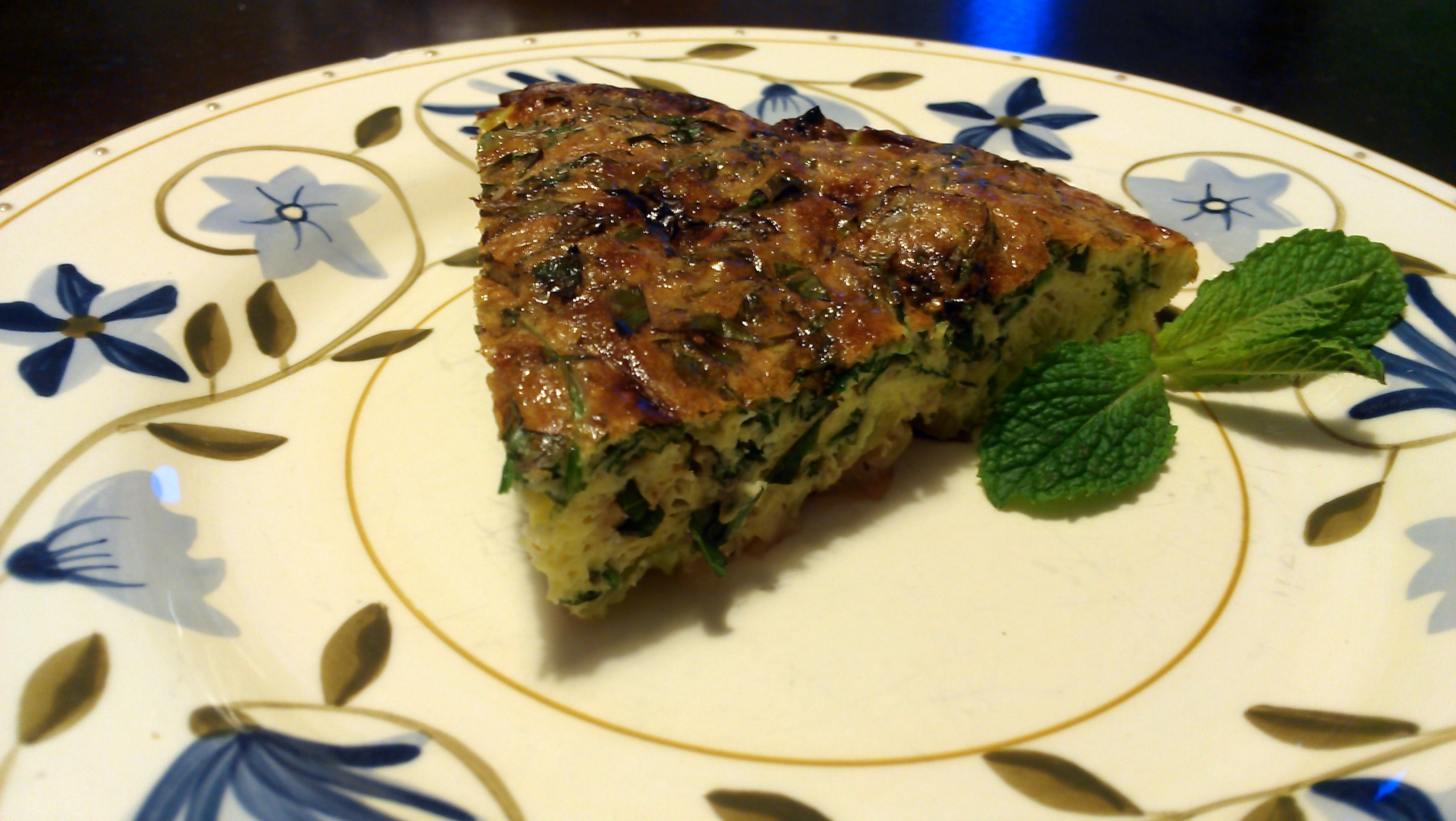 The Non-Omelet Omelet: Leek and Herb Frittata | The Hungary Buddha ...