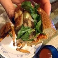 Double Duty:  Sai Gog Khao Jee, or Laotian Sausage Sandwich