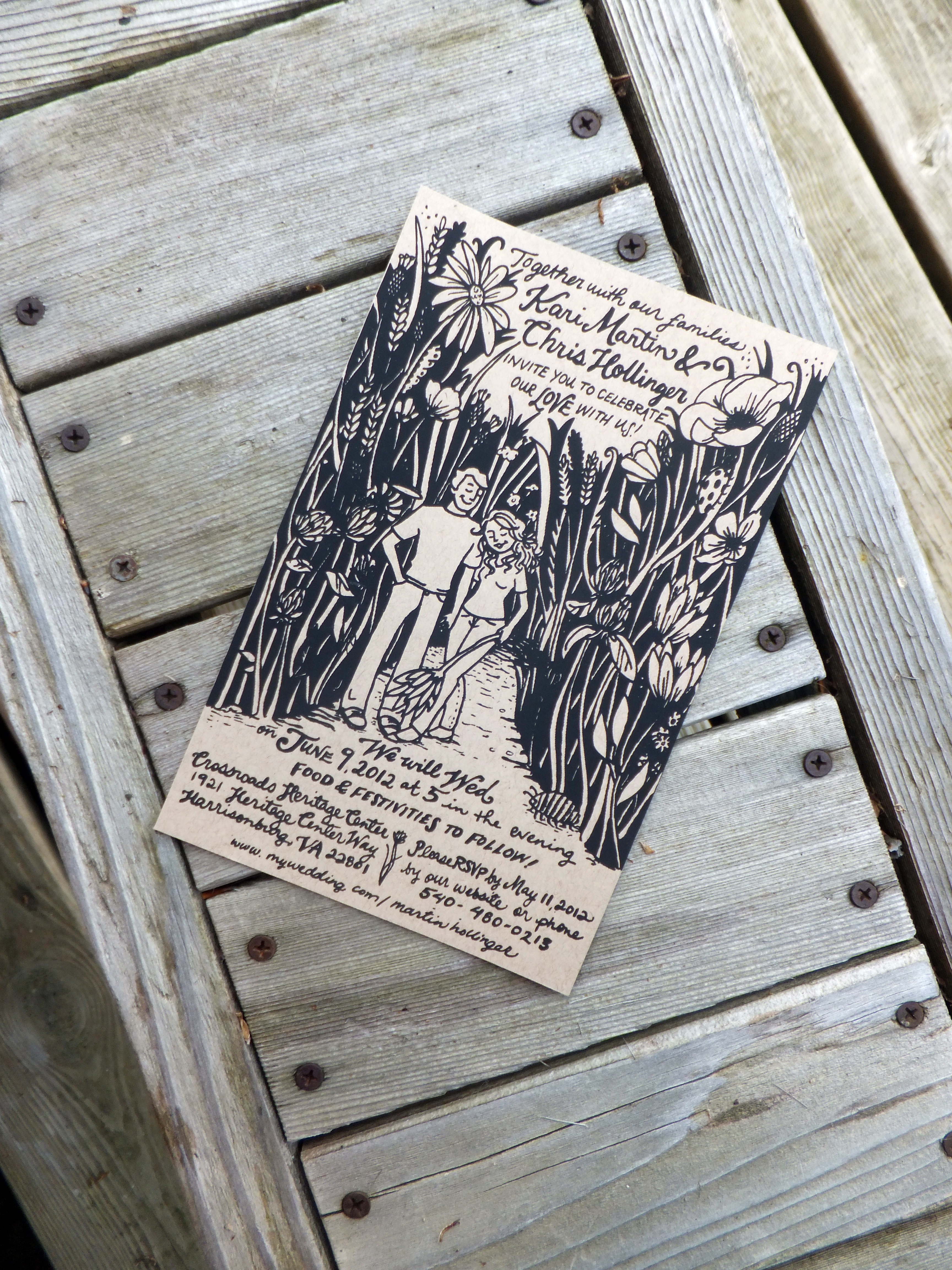 screen printed wedding invitations wedding invitations printing I took the pictures of the invitations