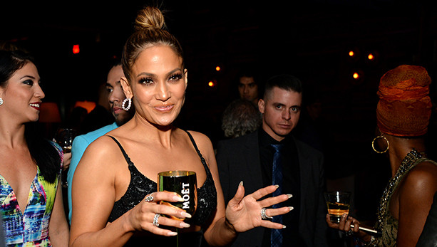 WEST HOLLYWOOD, CA - NOVEMBER 22:  A general view of atmosphere at the Moet & Chandon AMA After Party with Jennifer Lopez at HYDE Sunset: Kitchen + Cocktails on November 22, 2015 in West Hollywood, California.  (Photo by Michael Kovac/Getty Images for Moet & Chandon)