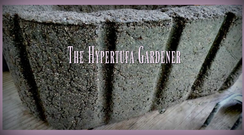 Hypertufa Gardener - YouTube videos for making hypertufa