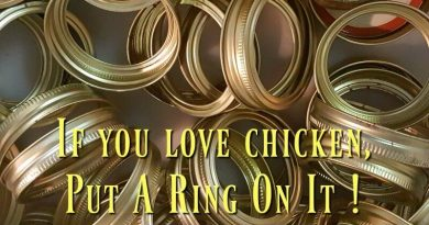 If you love chicken, put a ring on it!