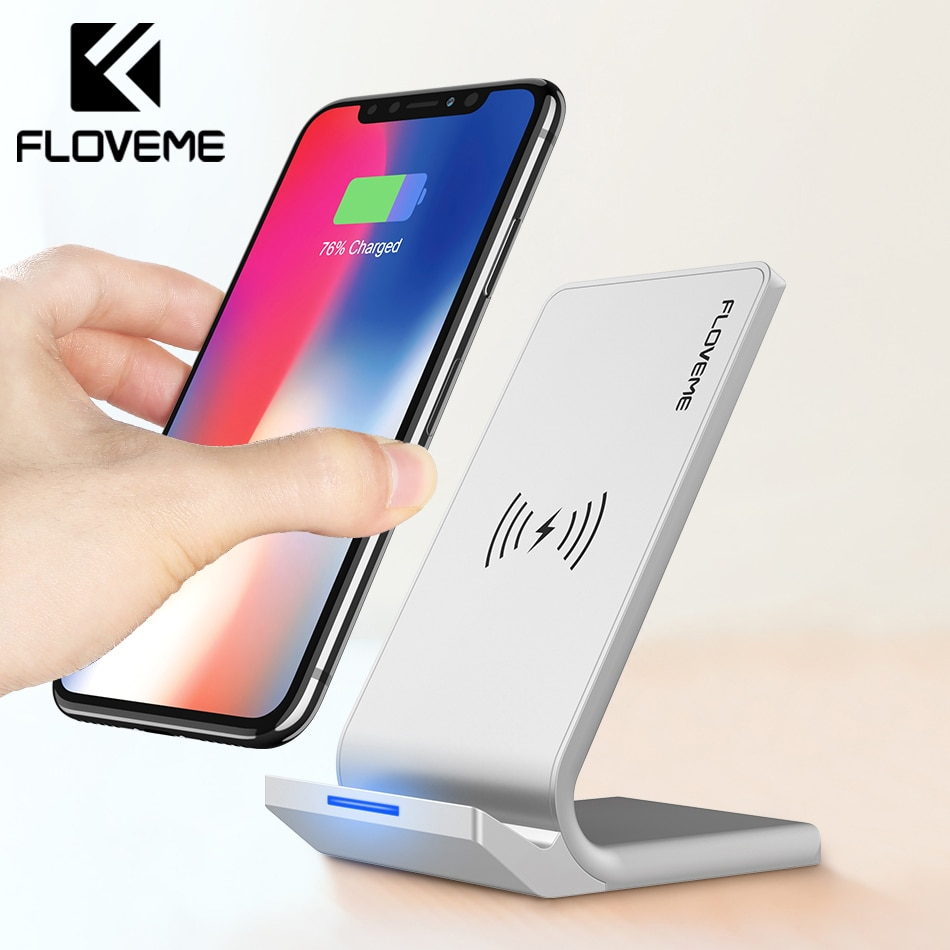 Iphone Cordless Charger Floveme Universal Qi Fast Wireless Charger For Iphone X Xs Max Xr Charger Usb 10w Power Charging For Samsung Galaxy S8 S9 Note 8