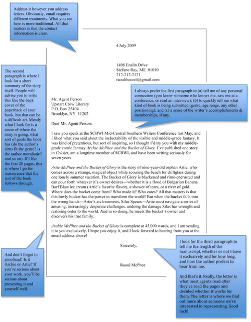 Email Query Letter Screenplay | Resume Formats That Work