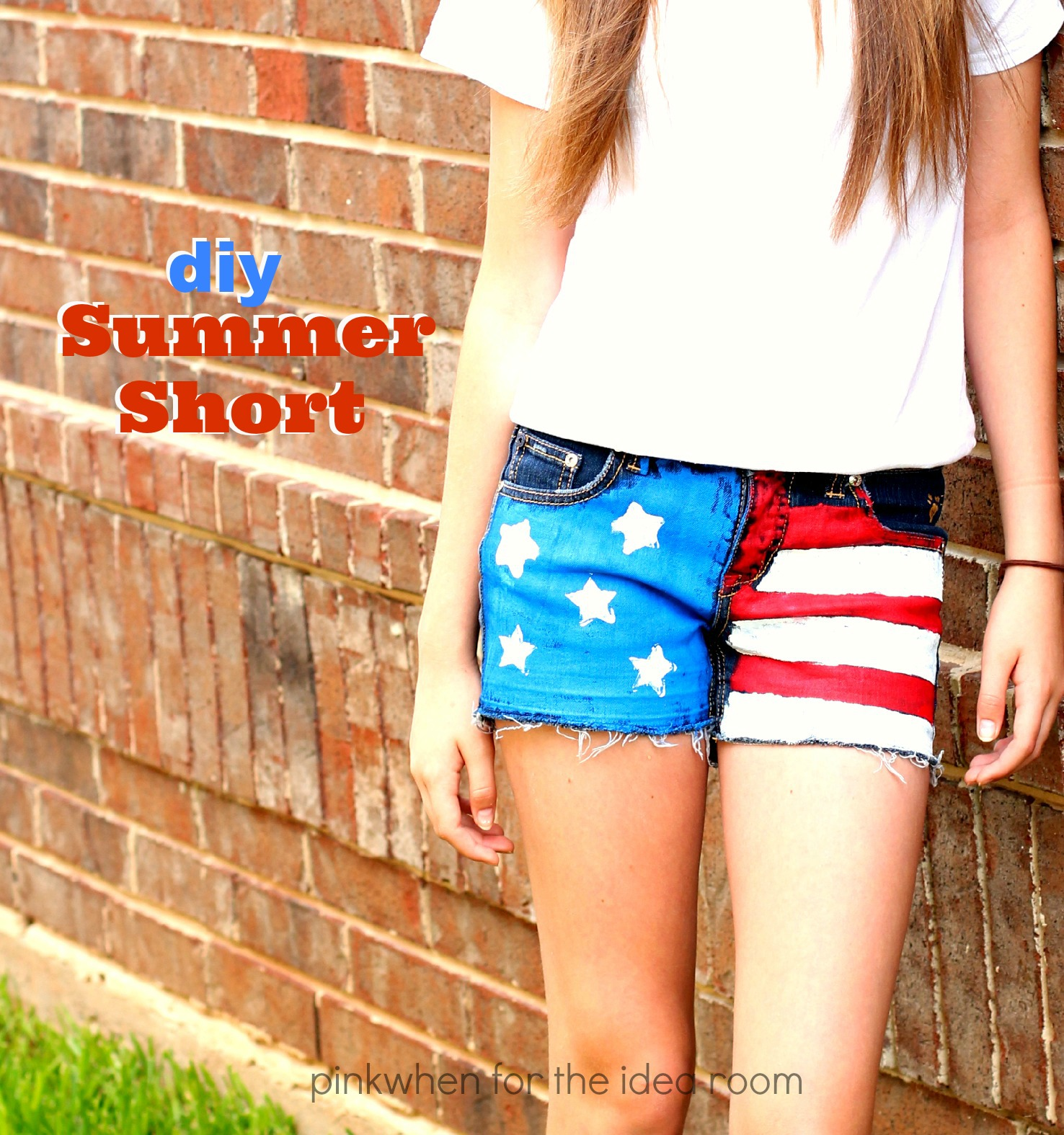 Diy Clothes For Summer Diy Summer Shorts Tutorial The Idea Room