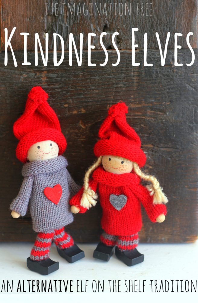 Kindness Elves An Alternative Elf on the Shelf Tradition - The - sample paper doll