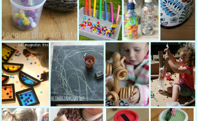 15 Diy Non Toys For Toddlers The Imagination Tree