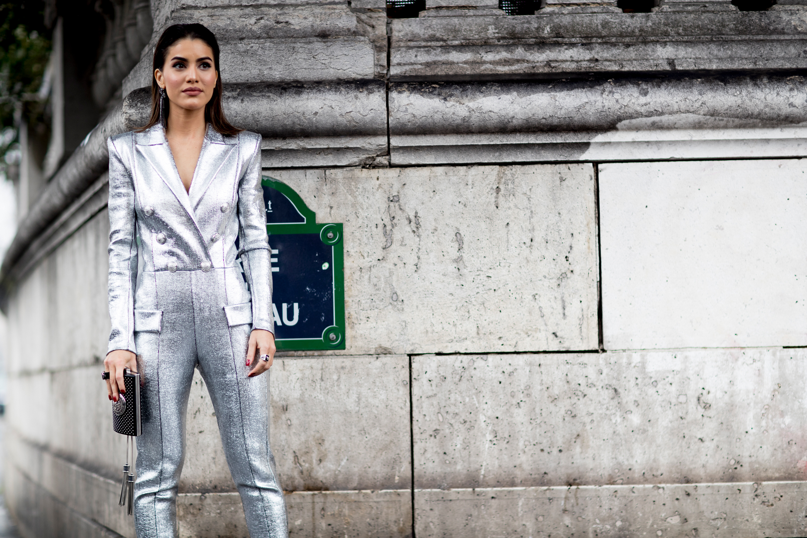 Silvester Outfit Frauen Paris Fashion Week Street Style Fall 2018 Day 4 - The