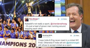 Piers Morgan Says Kabaddi Isn't Real Sport. Indian Twitter & Viru Savagely Trolls Him