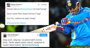 It's Virender Sehwag's Birthday & Everybody Is Wishing Him In His Style