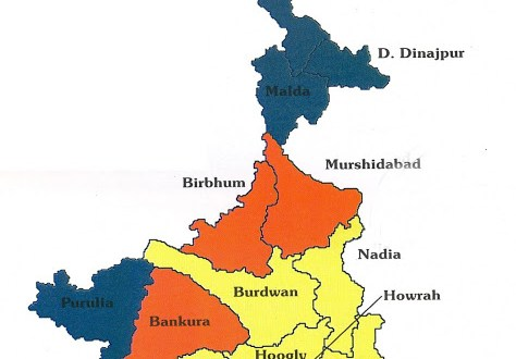 west-Bengal_map