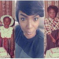 Throwback photos of actress Chioma Akpotha & Lola Okoye
