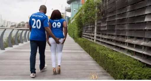 11 More crazy pre-wedding pictures of Nigerian couples that will leave rolling on the floor!
