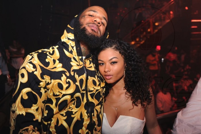 Rapper The Game inserts his finger into teenage girlfriend's privates in public (See Photos)