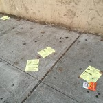 Bronx Coalition pamphlets litter Jerome Avenue weeks after the meeting