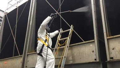 PPE Cooling Tower Cleaning 4