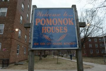 Pomonok Houses is a large public housing development in South Queens. (Photo courtesy of Creative Commons.)