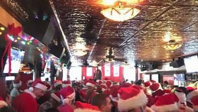 SantaCon celebrated at Manhattan's 13th Step.