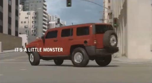 H3 Hummer is watched by parents