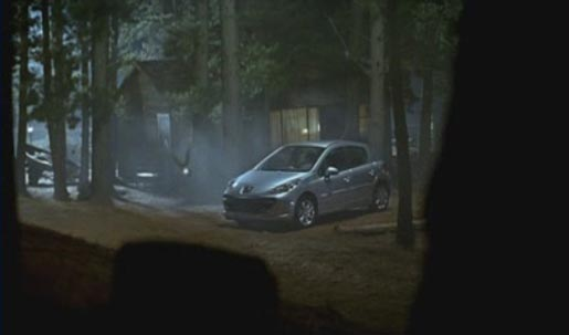 Peugeot 207 TV Ad features a firefly in the forest