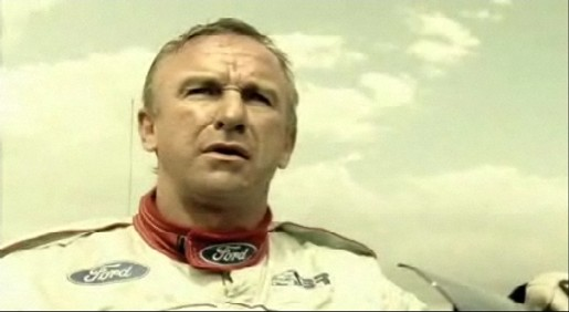 Russell Ingall on track bothered with flies