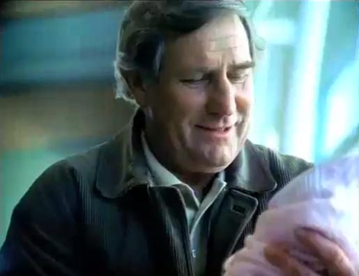 Grandfather moved to tears in Air NZ TV ad