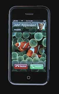 John Appleseed's iPhone in TV ad