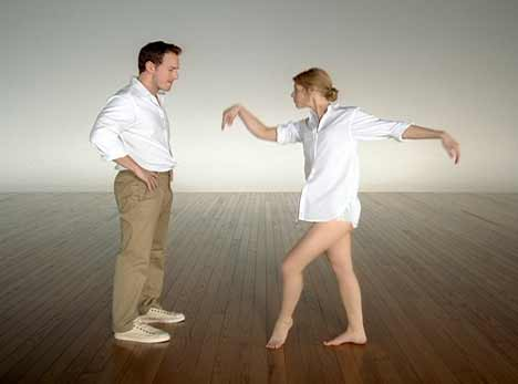 Claire Danes and Patrick Wilson in Gap Khakis TV ad