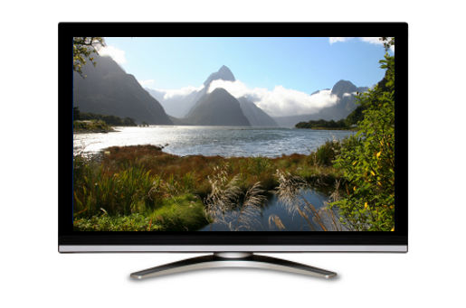 Milford Sound Television Screen