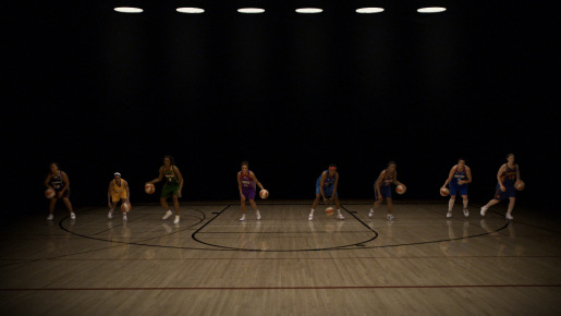 Players in WNBA Eight to One commercial