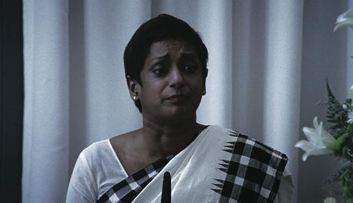 Jo Kukathas plays Mrs Lee in Think Family Funeral commercial