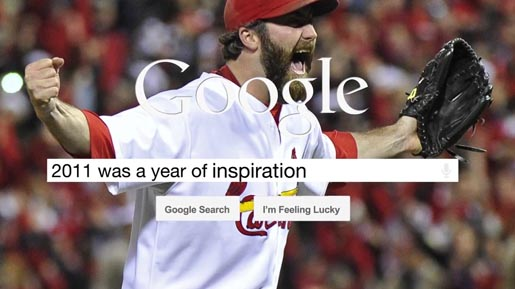 Google 2011 was a year of inspiration