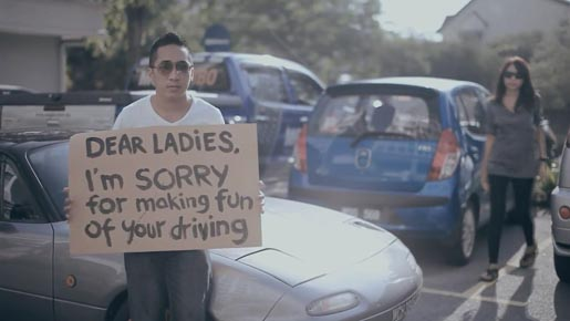 Dear Ladies Apology in Dear Malaysians campaign