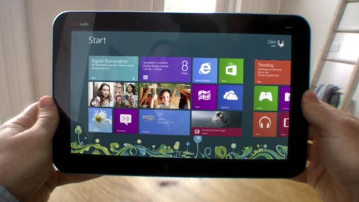 Windows 8 Countdown tablet