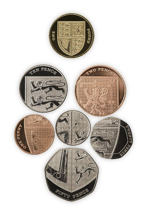 Royal Mint Reverse UK coins