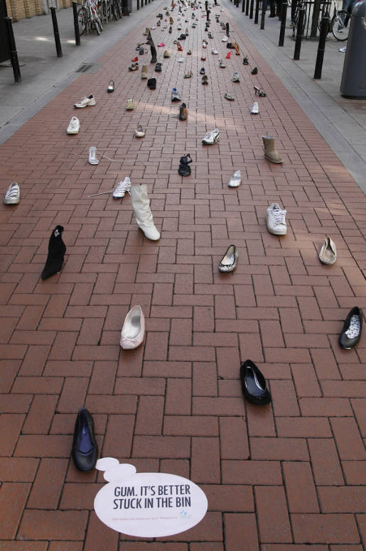 Stuck Shoes in Dublin