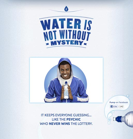 Pump Water is not without Mystery