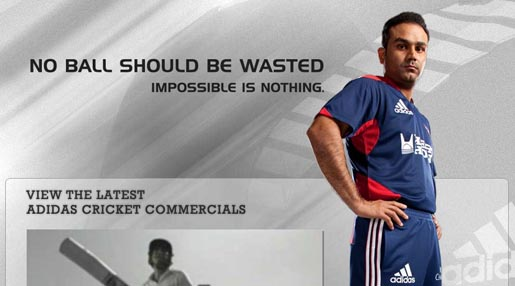 Adidas Cricket Impossible is Nothing