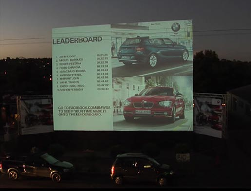 BMW projected Leaderboard
