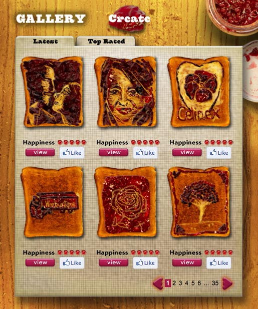 Warburtons Toast Cards Gallery