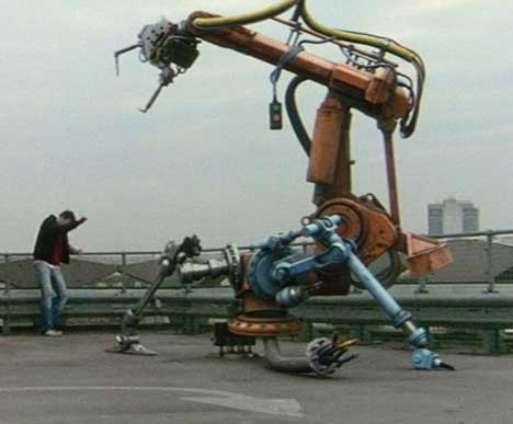 Robot in Chemical Brothers Believe Music Video