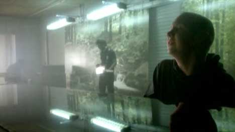 Scene from first How To Save A Life music video