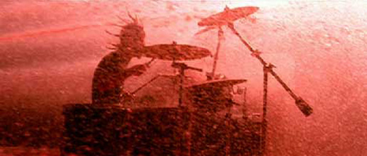 Foo Fighters Drummer Red in The Pretender music video