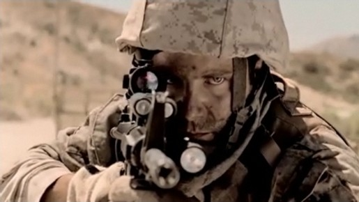 Soldier in Metallica Day That Never Comes music video