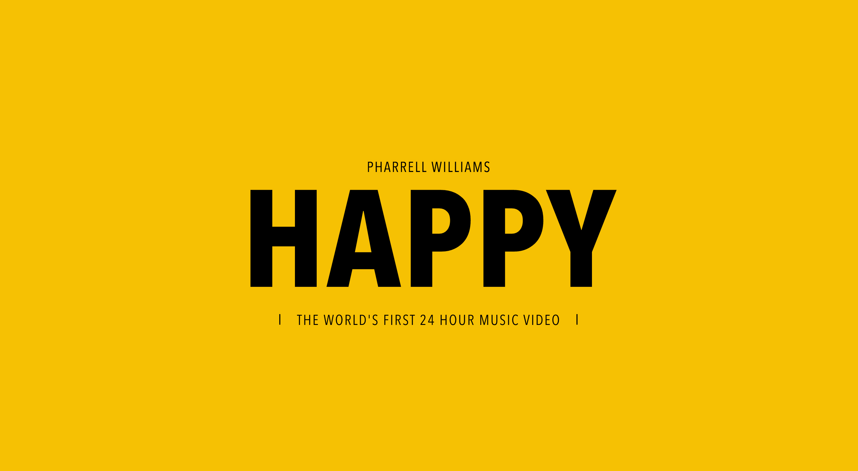 Happy 24 Pharrell Williams Happy For 24 Hours The Inspiration Room