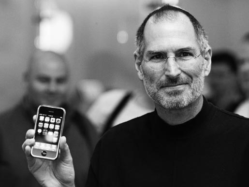Steve Jobs photo used for Bloomberg Business Week cover