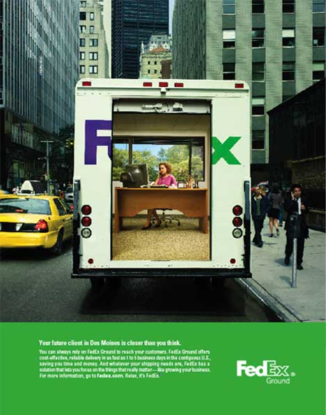 Des Moines is closer than you think with Fedex