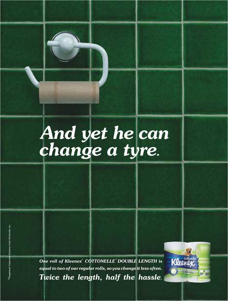 And yet he can change a tyre