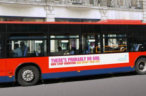 There's probably no God on bus